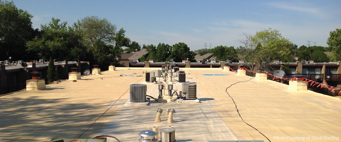 spray foam roofing systems for Louisana